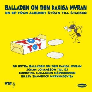 Balladen om den kaxiga myran — en EP från albumet Strån till stacken